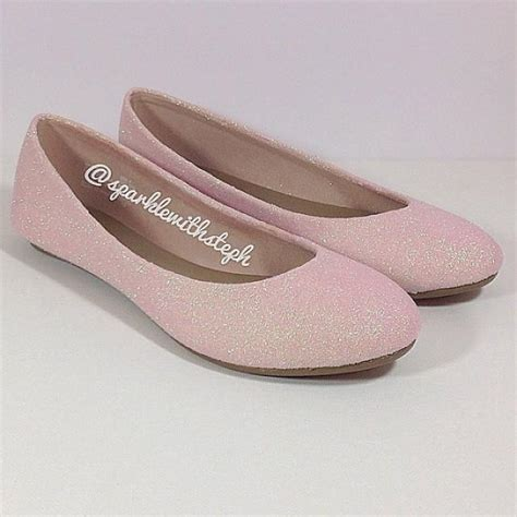 wedding shoes flats sparkle glitter shoes glitter ballet flats wedding flats