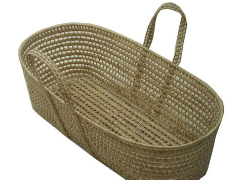 Handmade Moses Basket - handmade moses basket only