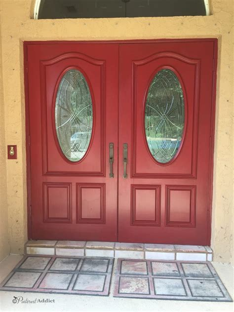 modern masters front door paint painting the front door again pinterest addict