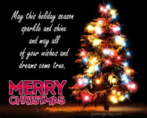 holiday season sparkle  shine      wishes  dreams  true merry