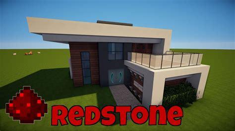 minecraft modernes redstone haus bauen tutorial haus