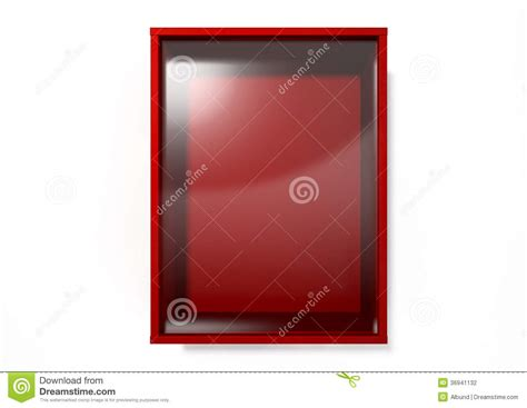 in of emergency glass template in of emergency glass vector illustration