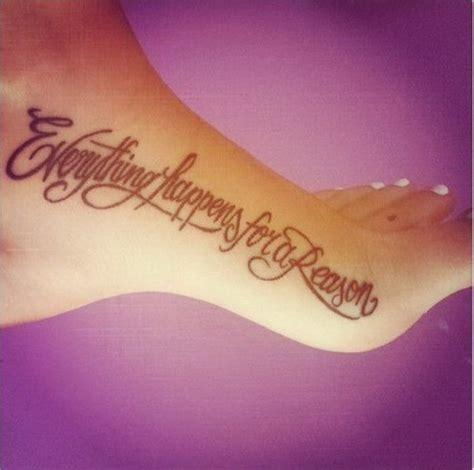 30 everything happens for a reason tattoo designs
