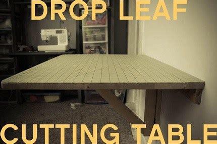 diy wall mounted drop leaf table tutorial diy wall mounted drop leaf cutting table sewing