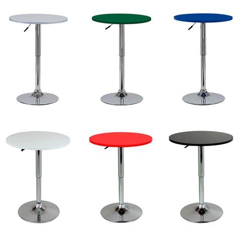 Adjustable Bar Table Bar Table Bistro Table Mdf Kitchen Dining Adjustable Swivel Pub Table U054 Ebay
