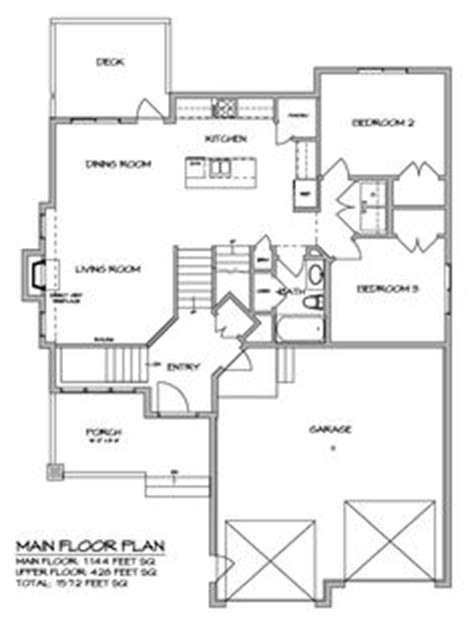 modified bi level house plans 1000 ideas about bi level homes on pinterest split entry split foyer and home