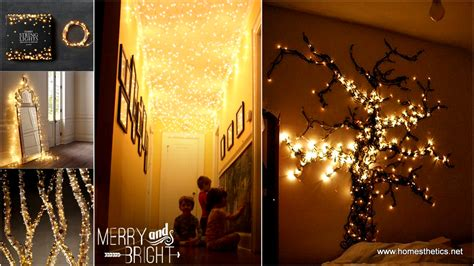 christmas light decoration ideas homemade holiday inspiration