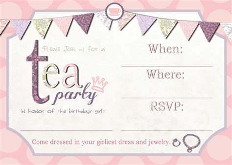 mad hatter tea invitations templates 12 cool mad hatter tea invitations baby