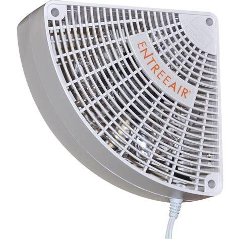 air circulation fans home entreeair 5 in single speed door frame fan in white rr100