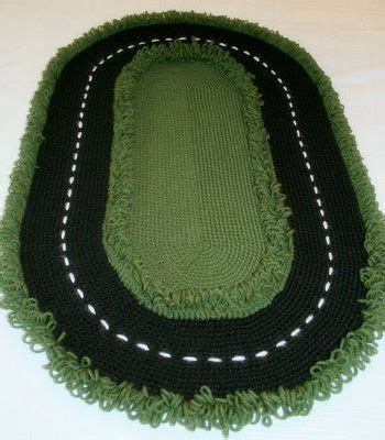 how to crochet tracks rug patterns patterns and crochet on pinterest