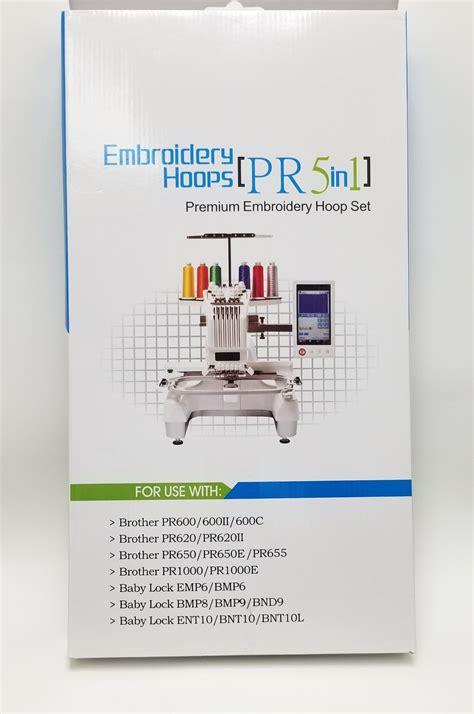 Embroidery Hoop Set 5 Pcs Epf60 Epf100 Epf180 Epf300 Fits