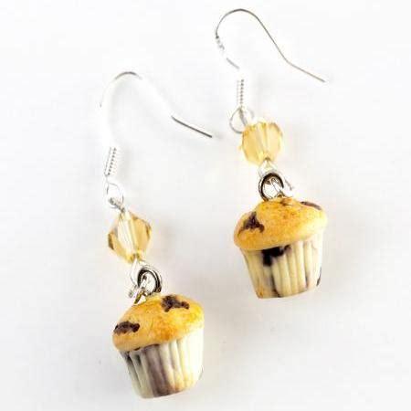 Muffin Hooks 3 blueberry muffin dangle earrings on luulla