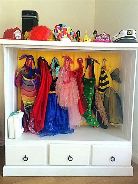 Dressup Wardrobe by Diy Dress Up Wardrobe From A Dresser