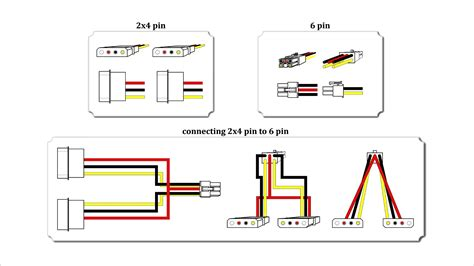 molex to 6 pin wiring diagram 29 wiring diagram images