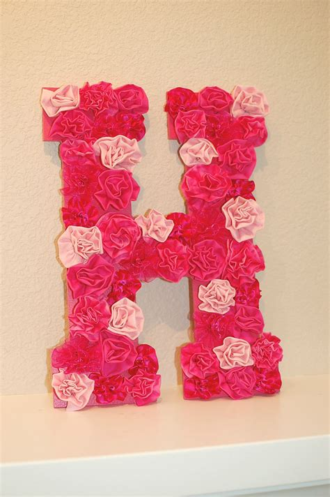 Letter Decoration Ideas Pinkie For Pink Diy Letter Wall Decor