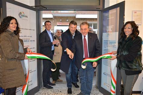 sede uil inaugurata la nuova sede della uil centumcellae news