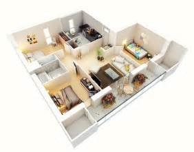 3 Bedroom House Designs Pictures by 25 Three Bedroom House Apartment Floor Plans Amazing