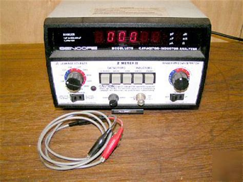 capacitor inductor analyzer capacitor and inductor analyzer 28 images eham net classifieds sencore lc102 capacitor and