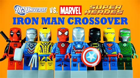 Spider Uk Minifigure Lego Bootleg lego iron marvel vs dc crossover armory knockoff mi