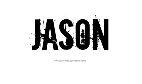 tattoo name jason jason name tattoo designs