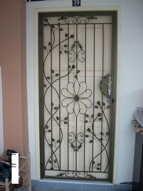 Door Grill Design by Johor Bahru Jb Malaysia Design Top Design Renovation