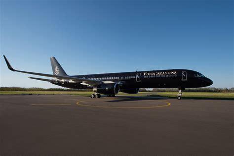 luxury jets four seasons unveils luxury jet