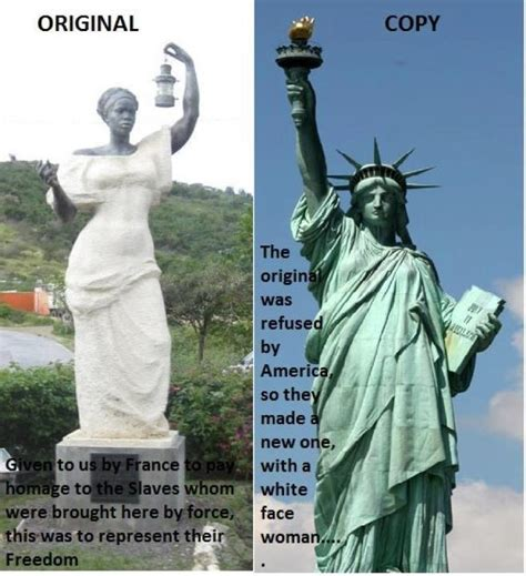 original color of the statue of liberty users fall for statue of liberty hoax the daily dot