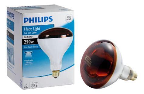 Lu Sorot 250 Watt Philips Philips 415836 Heat L 250 Watt R40 Flood Light Bulb