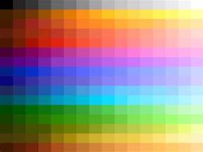 palette colors choosing or creating a 256 color palette gamedev
