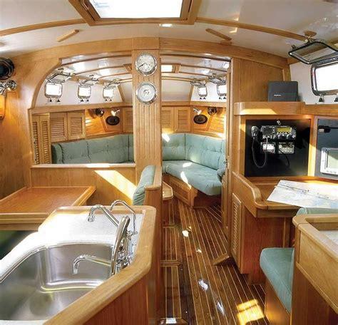 images  sailboat interior pins  pinterest