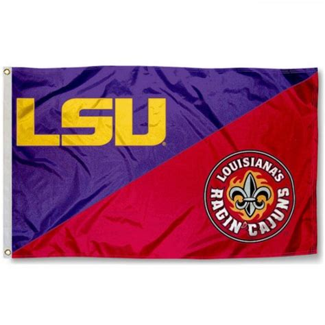 house divided flag lsu vs ull your house divided flag