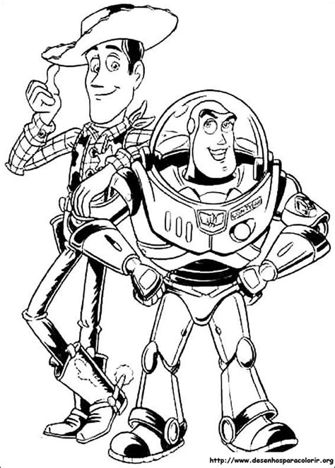 toy story para colorir
