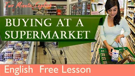 what to watch out for when buying a house buying at a supermarket shopping english lesson youtube