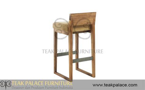 Kursi Bar Minimalis Jati kursi bar minimalis modern kayu jati seri dino harga murah mebel jepara