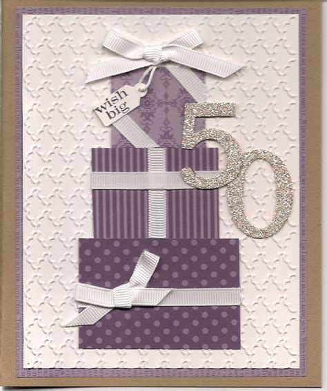 Handmade 50th Birthday Cards - 25 best ideas about 50th birthday cards on