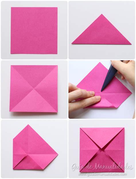 como hacer una rosa imgenes como hacer una rosa de papel origami imagui