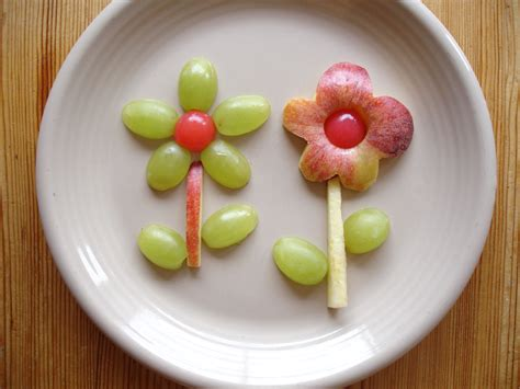flower food fruit flower fun food cocina imaginativa food comida