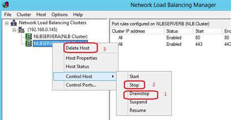 how to uninstall nlb godwin dinesh windows 2012 network load balancing nlb