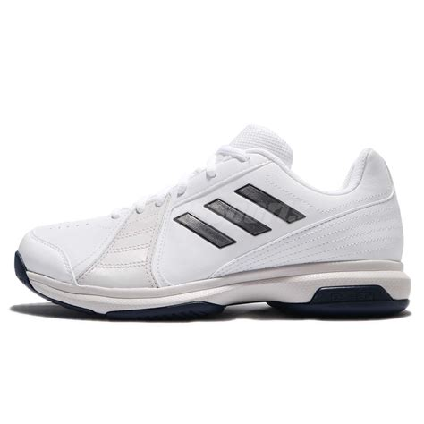 white leather tennis shoes adidas approach white navy leather court tennis shoes