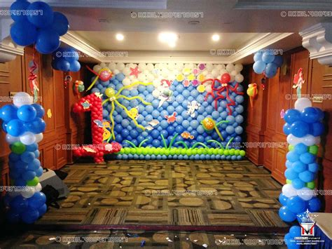 event management company balloon decoration modern entertainment 9884378857