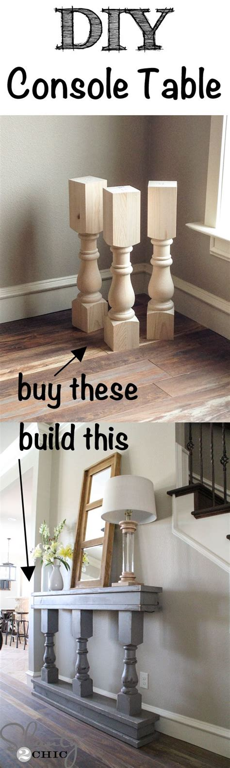 diy console table diy furniture furniture makeover