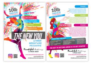 weight loss challenge flyer template weight loss challenge flyer template outletsonline info