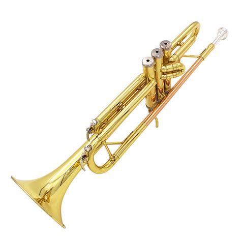 brilliant lade buy lade bb copper golden trumpet brass band with glove