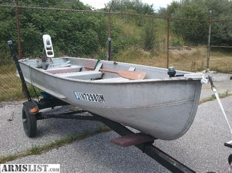 used 14 ft jon boats for sale armslist for sale 14 ft jon boat w trailor and trolling