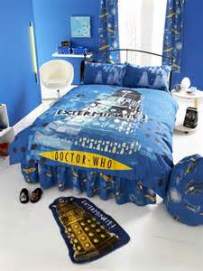 Doctor Who Duvet Doctor Who Double Duvet Cover And Pillowcase Upgrade