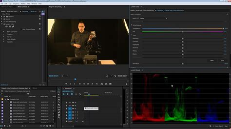 adobe premiere pro white balance what is video color correction how to get started in