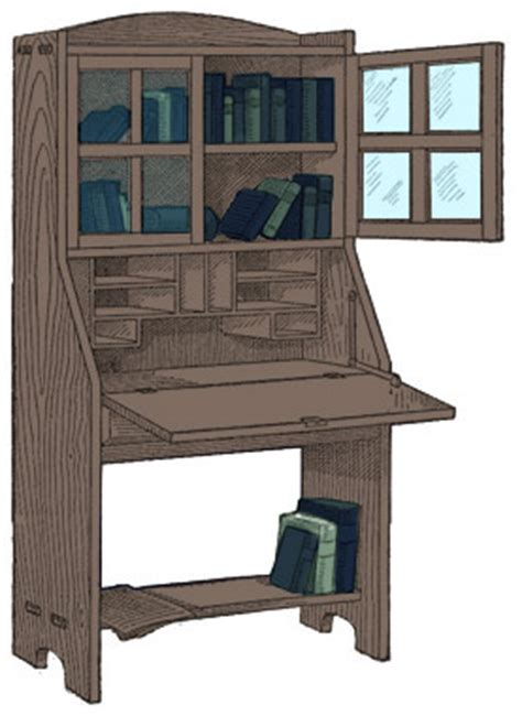 Desk And Bookcase Combination by Combination Bookcase And Desk Plans Free Plans