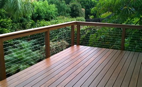 cable deck railing kits cable deck railing installation