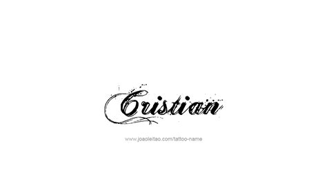 tattoo design name cristian 26 png