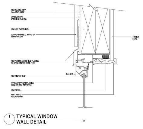 window section detail dwg window head jpg 808 215 729 window detail pinterest